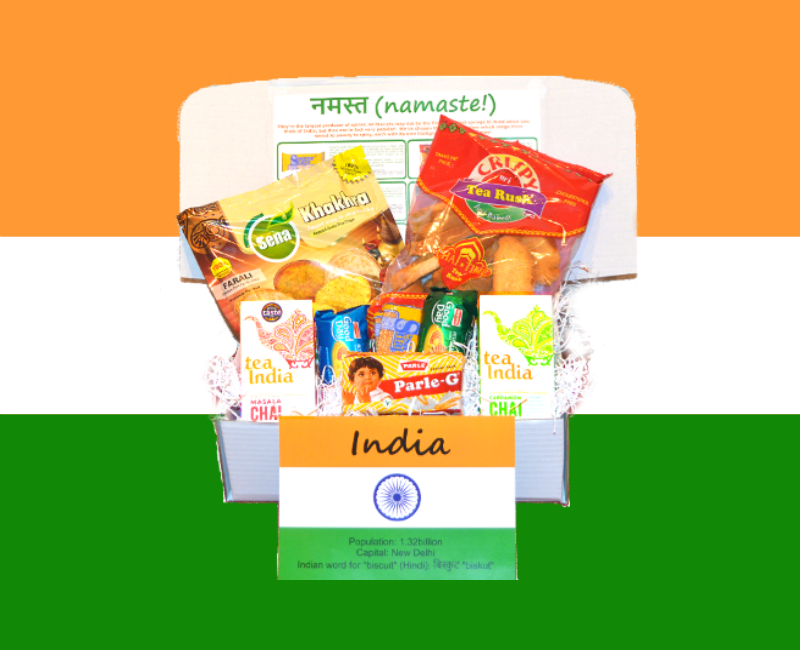 Read All About Our Indian Box!