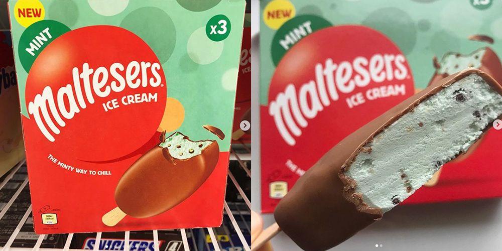 Maltesers Mint Ice Cream